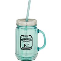 Drink Mason Jar With Straw